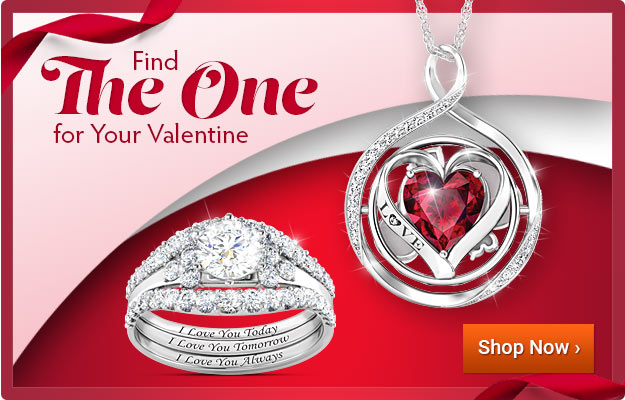 Find The One for Your Valentine - Shop Now