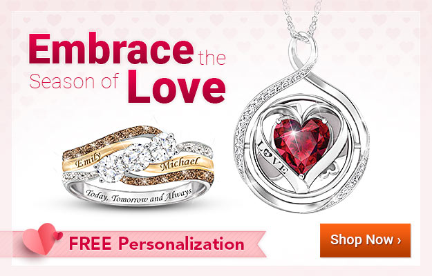Embrace the Season of Love - FREE Personalization - Shop Now