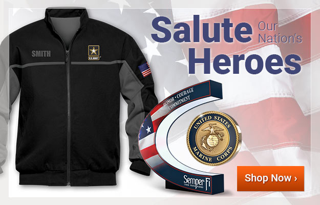 Salute Our Nation's Heroes- Shop Now