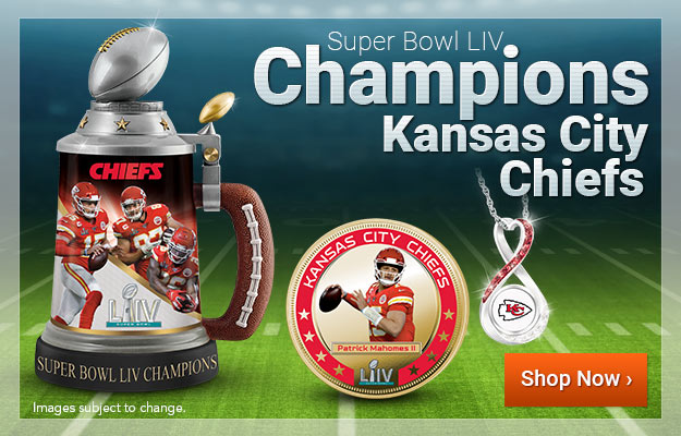 Super Bowl LIV Champions - Kansas City Chiefs - Shop Now