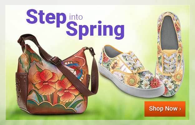 Step into Spring - Shop Now