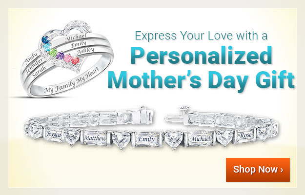 Express Your Love with a Personalized Mother's Day Gift - Shop Now