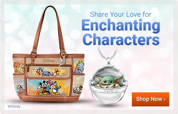 Share Your Love for Enchanting Characters - Shop Now