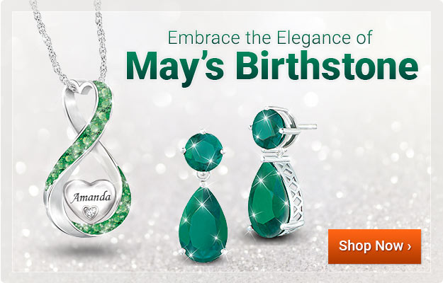 Embrace the Elegance of May's Birthstone - Shop Now
