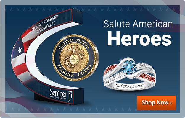 Salute American Heroes - Shop Now