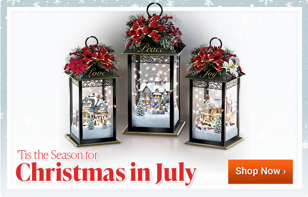 Tis the Season for Christmas in July - Shop Now
