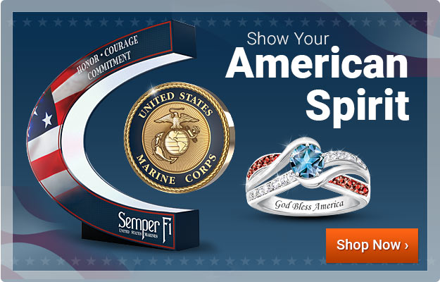 Show Your American Spirit - Shop Now