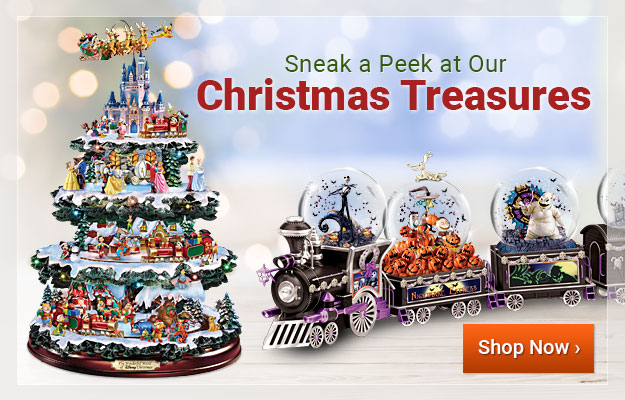 Sneak a Peek at Our Christmas Treasures - Shop Now
