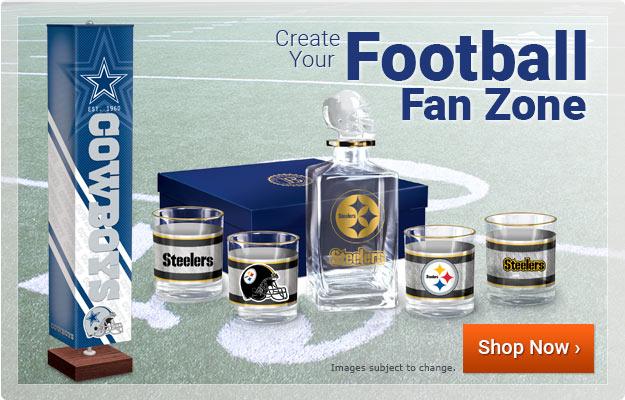 Create Your Football Fan Zone - Shop Now