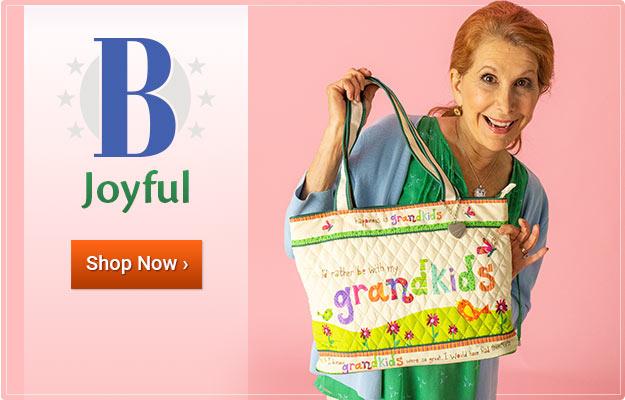 Be Joyful - Shop Now