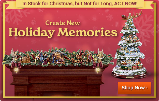 Create New Holiday Memories - In Stock for Christmas, but Not for Long! - Shop Now