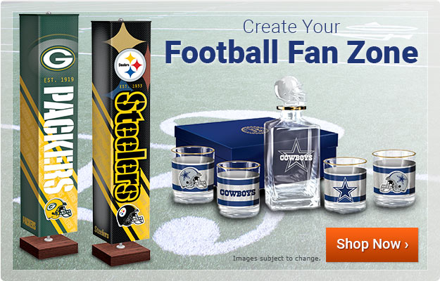 Create Your Football Fan Zone - Shop Now