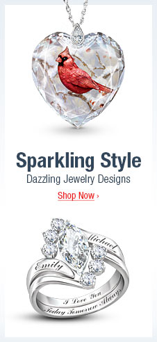 Sparkling Style - Dazzling Jewelry Designs - Shop Now