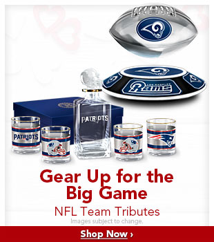 Gear Up for the Big Game - NFL Team Tributes - Shop Now