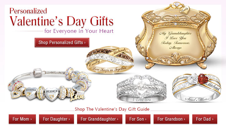 Personalized Valentine's Day Gifts for Everyone in Your Heart- Shop Now