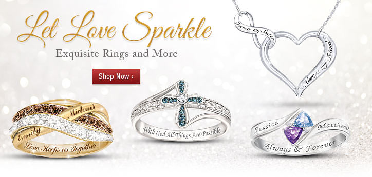 Let Love Sparkle - Exquisite Rings and More - Shop Now