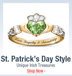St. Patrick's Day Style - Unique Irish Treasures - Shop Now