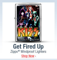 Get Fired Up - Zippo(R) Windproof Lighters - Shop Now