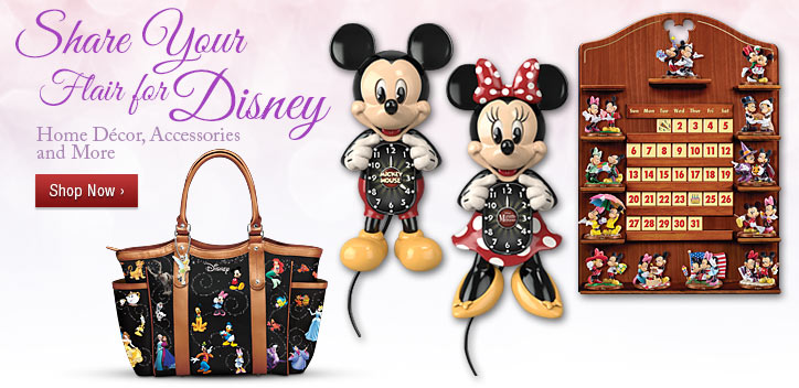 Share Your Flair for Disney - Home Decor, Accessories and More - Shop Now