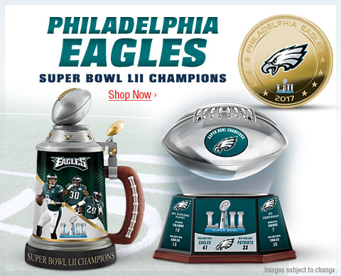 Philadelphia Eagles - Super Bowl LII Champions - Shop Now