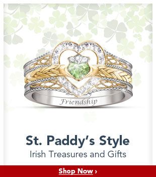 St. Paddy's Style - Irish Treasures and Gifts - Shop Now