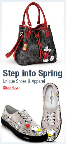 Step into Spring - Unique Shoes and Apparel - Shop Now