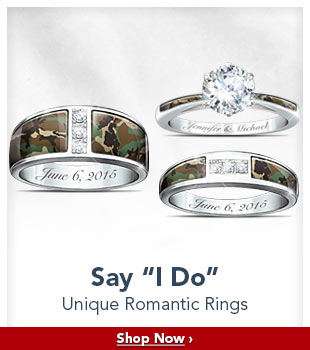 Say 'I Do' - Unique Romantic Rings - Shop Now
