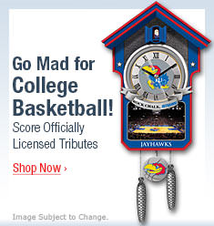 Go Mad for College Basketball! Score Officially Licensed Tributes - Shop Now