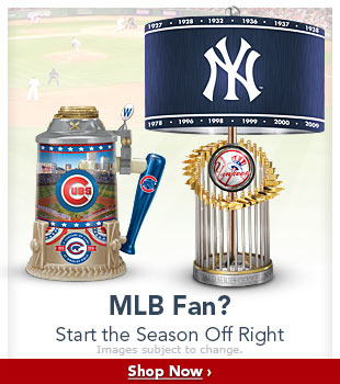 MLB Fan? Start the Season Off Right - Shop Now