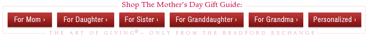 Shop the Mother's Day Gift Guide: The Art of Giving(R) - Only from The Bradford Exchange