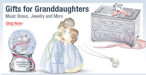 Gifts for Granddaughters - Music Boxes, Jewelry and More - Shop Now