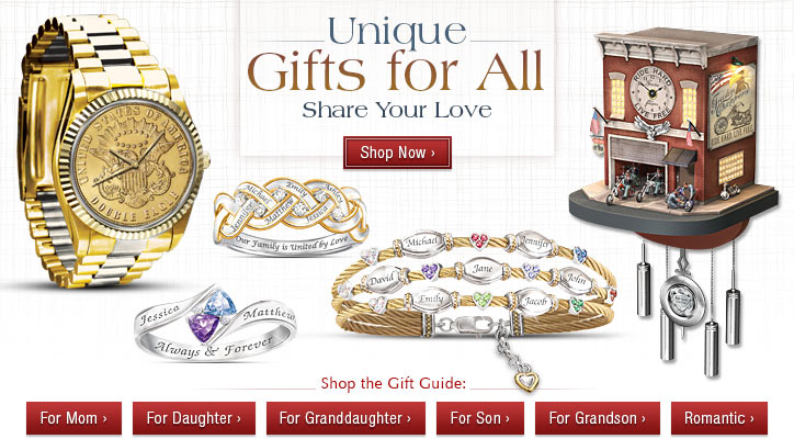 Unique Gifts for All - Share Your Love - Shop Now