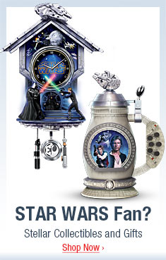 STAR WARS Fan? Stellar Collectibles and Gifts - Shop Now