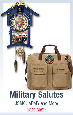 Military Salutes - USMC, ARMY and More - Shop Now