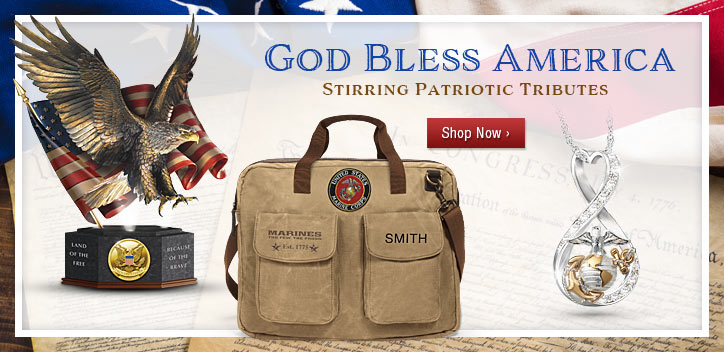 God Bless America - Stirring Patriotic Tributes - Shop Now