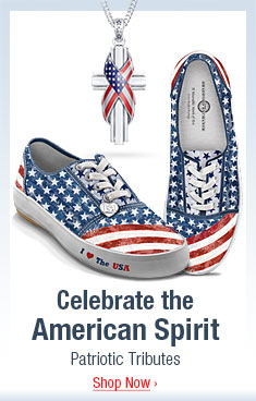 Celebrate the American Spirit - Patriotic Tributes - Shop Now