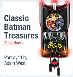 Classic Batman Tributes - Shop Now  -  Portrayed by Adam West