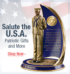 Salute the U.S.A. - Patriotic Gifts and More - Shop Now