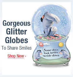 Gorgeous Glitter Globes To Share Smiles - Shop Now