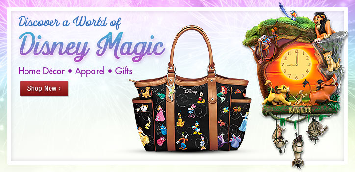 Discover a World of Disney Magic - Home Decor | Apparel | Gifts - Shop Now
