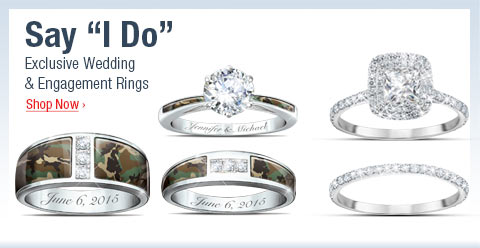 Say 'I Do' - Exclusive Wedding and Engagement Rings - Shop Now