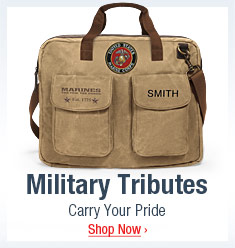 Military Tributes - Carry Your Pride - Shop Now