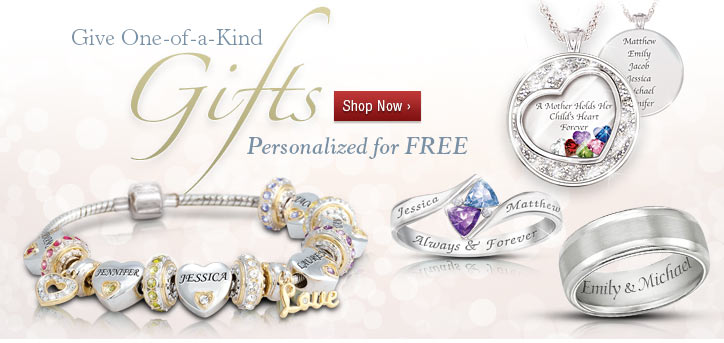 Give One-of-a-Kind Gifts - Personalized for FREE - Shop Now