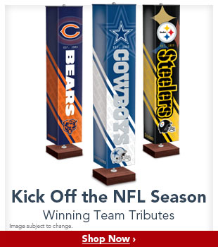 Kick Off the NFL Season - Winning Team Tributes - Shop Now