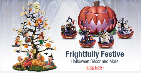 Frightfully Festive - Halloween Decor and More - Shop Now