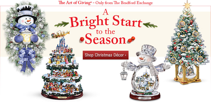 A Bright Start to the Season - Shop Christmas Decor