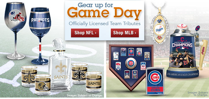 Gear Up For Game Day - Officially Licensed Team Tributes - Shop Now