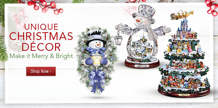 Unique Christmas Decor - Make It Merry & Bright - Shop Now