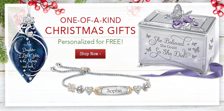 One-of-a-Kind Christmas Gifts - Personalized for FREE - Shop Now