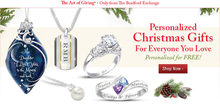 Personalized Christmas Gifts For Everyone You Love - Personalized for FREE! Shop Now